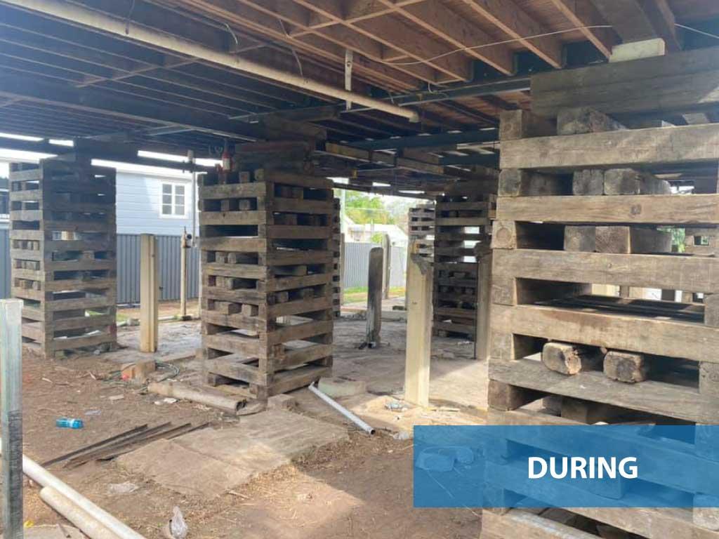 House-renovation-Wynnum-during-lift